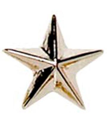 Silver Star Lapel Badge 8mm