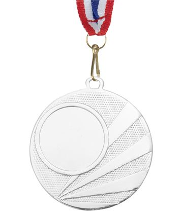 "Multisport Silver Medal with Medal Ribbon 50mm (2"")"