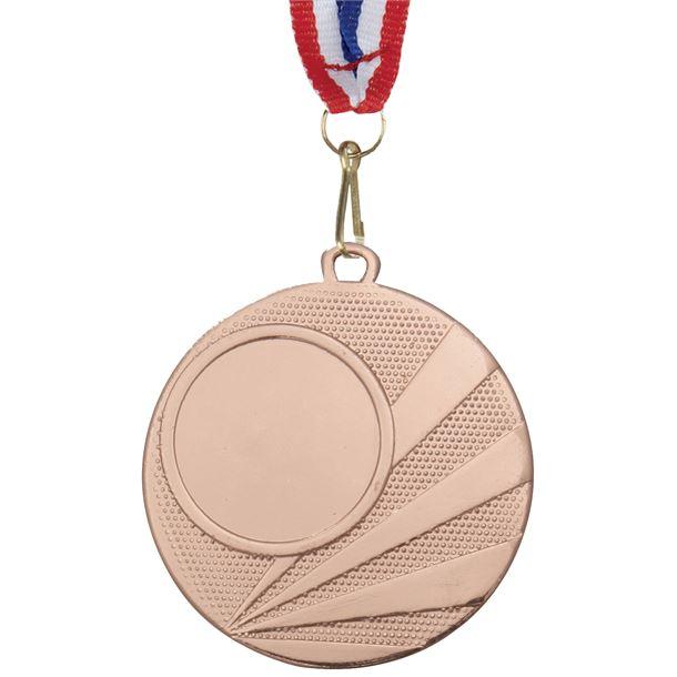 "Multisport Bronze Medal with Medal Ribbon 50mm (2"")"
