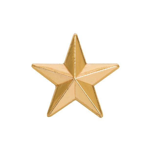 Gold Star Lapel Badge 12mm