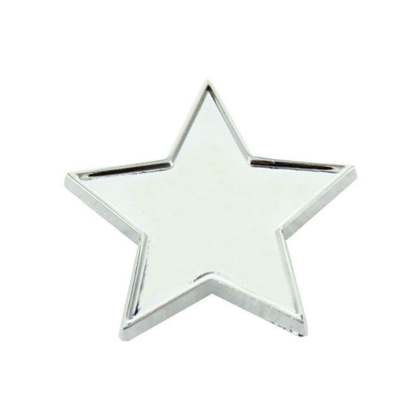 Silver Star Lapel Badge 20mm
