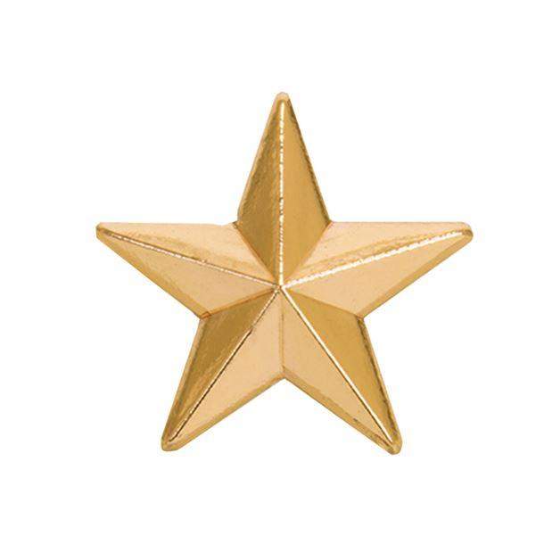 Gold Star Lapel Badge 8mm