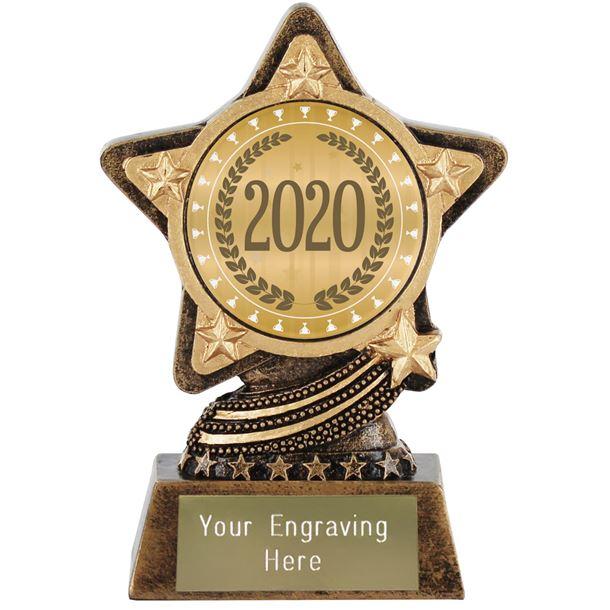 "2020 Trophy Laurel Wreath by Infinity Stars 10cm (4"")"