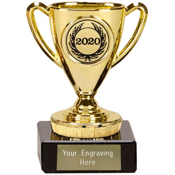 """2020 Gold Mini Cup Trophy 10cm (4"""")"""