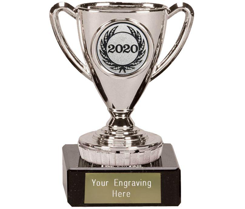"2020 Silver Mini Cup Trophy 10cm (4"")"