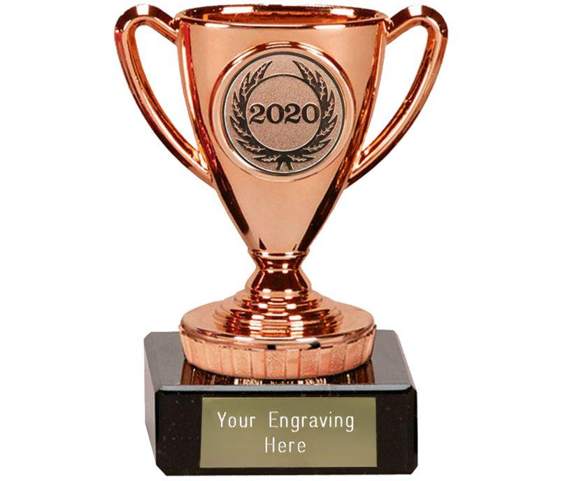 "2020 Bronze Mini Cup Trophy 10cm (4"")"