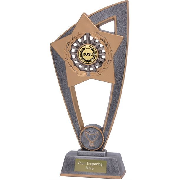 "2020 Gold Centre Multisport Star Blast Trophy 23cm (9"")"