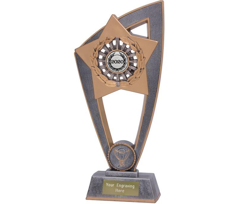 "2020 Silver Centre Multisport Star Blast Trophy 20cm (8"")"