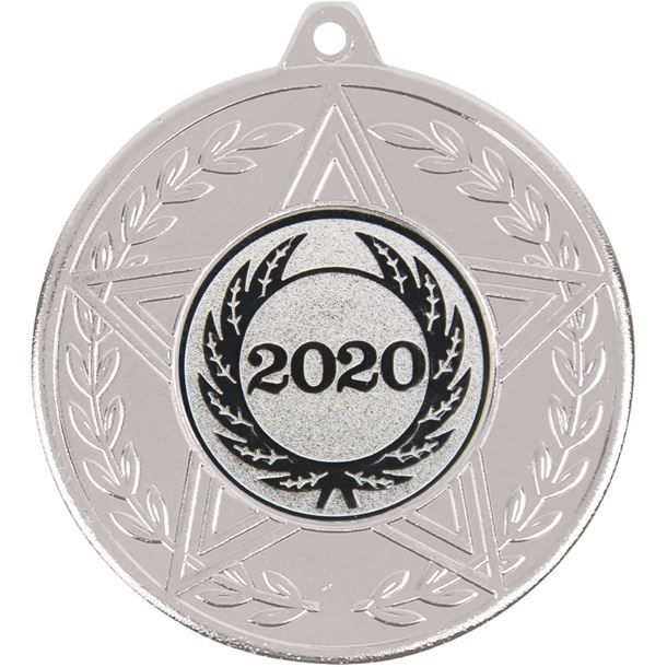 "Caesar 2020 Achievement Medal Silver 50mm (2"")"
