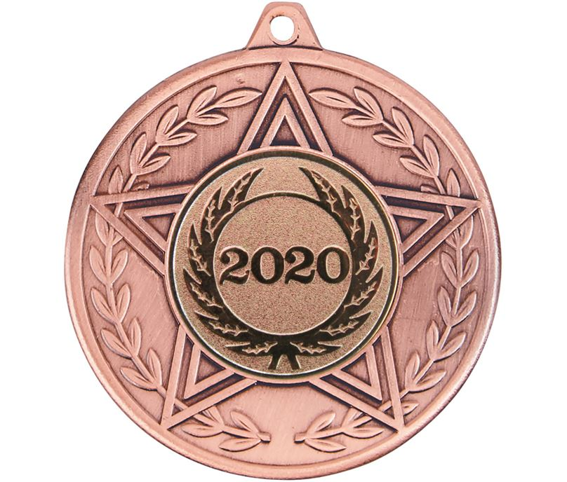 "Caesar 2020 Achievement Medal Bronze 50mm (2"")"