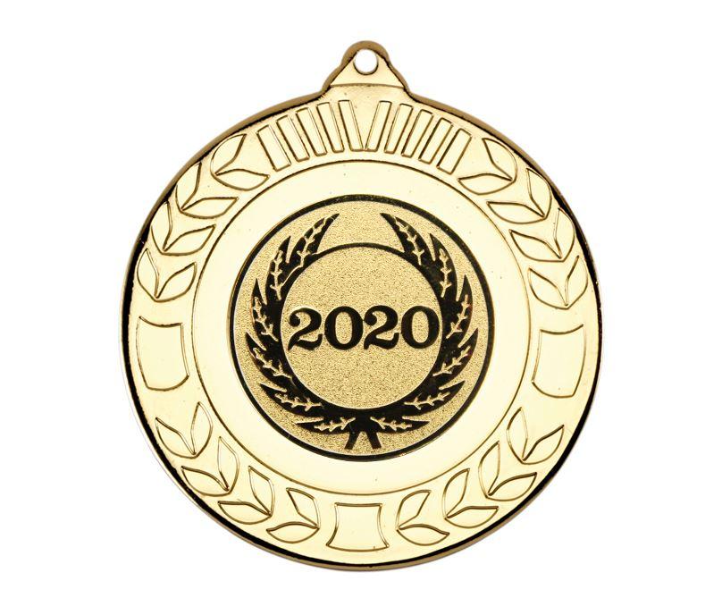"""Laurel Wreath 2020 Medal Gold 50mm (2"""")"""