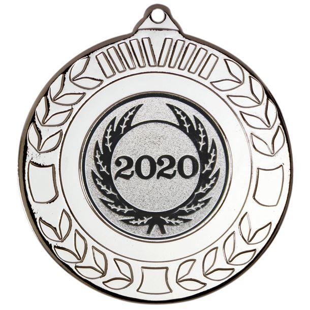 "Laurel Wreath 2020 Medal Silver 50mm (2"")"