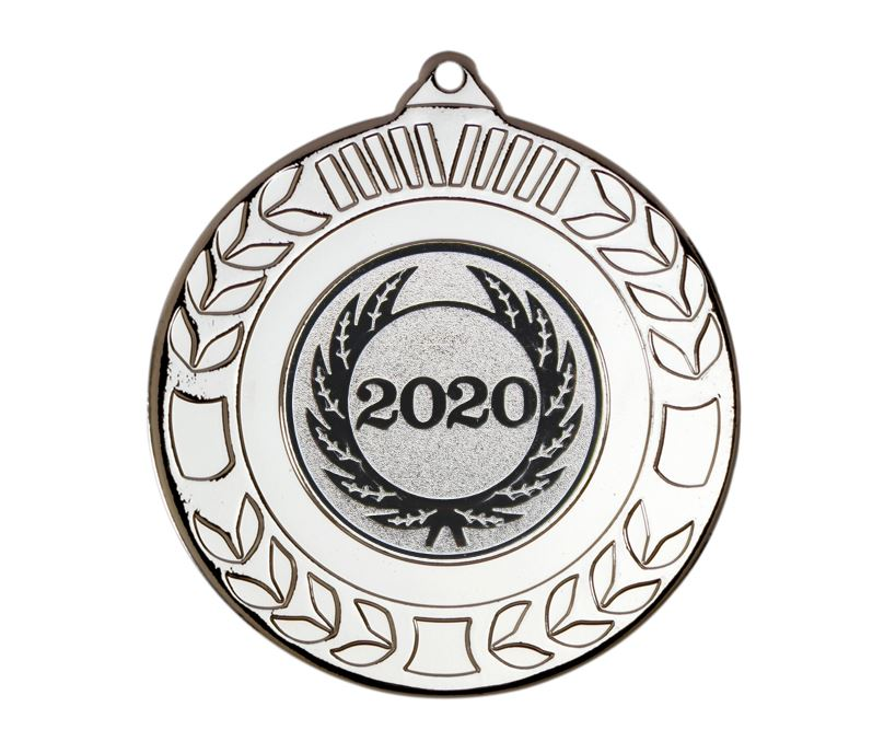"Laurel Wreath 2020 Medal Silver 50mm (2"")"