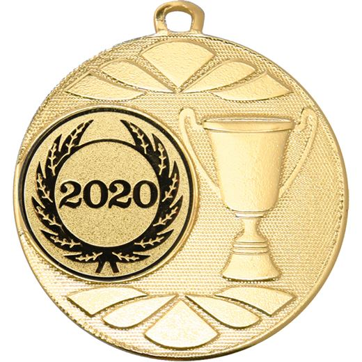 """Multi Award Cup 2020 Medal Gold 50mm (2"""")"""