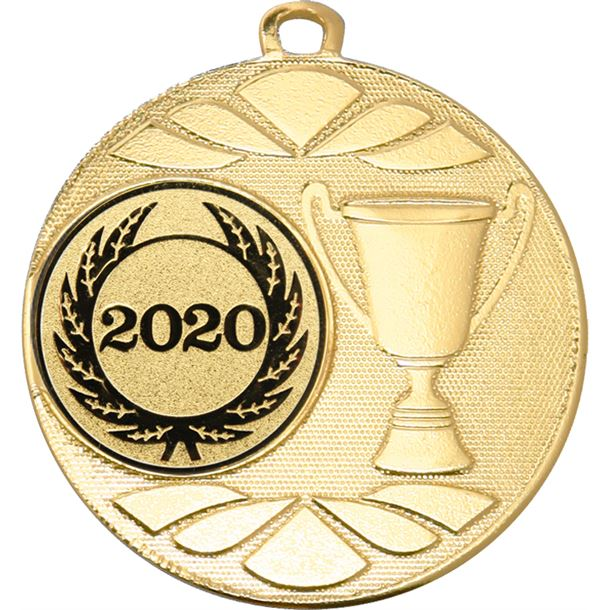 "Multi Award Cup 2020 Medal Gold 50mm (2"")"