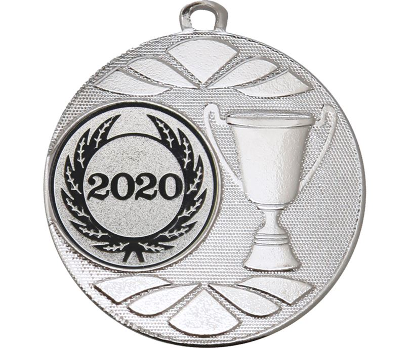 """Multi Award Cup 2020 Medal Silver 50mm (2"""")"""