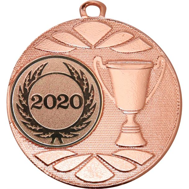 "Multi Award Cup 2020 Medal Bronze 50mm (2"")"