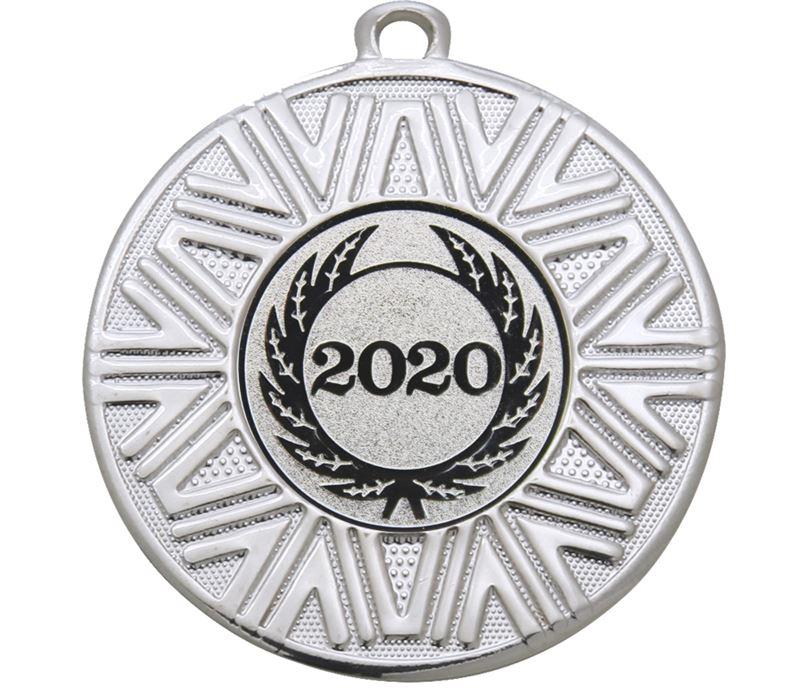 "2020 Achievement Medal Silver 50mm (2"")"