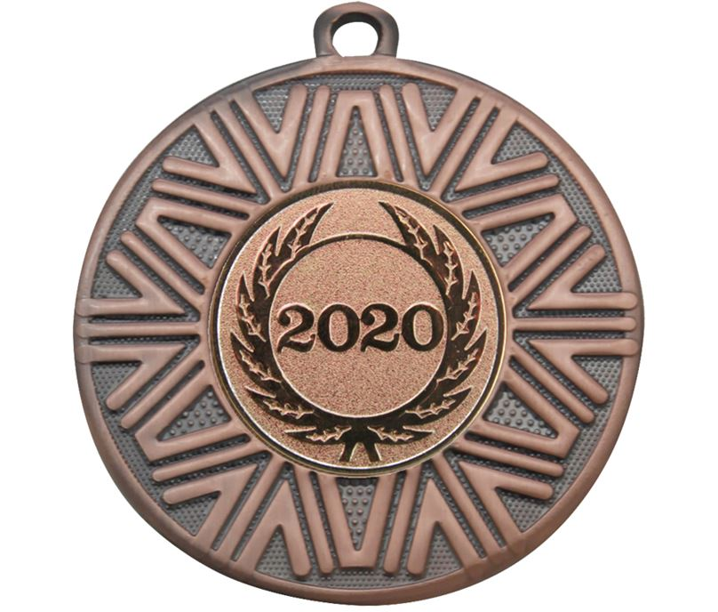 "2020 Achievement Medal Bronze 50mm (2"")"