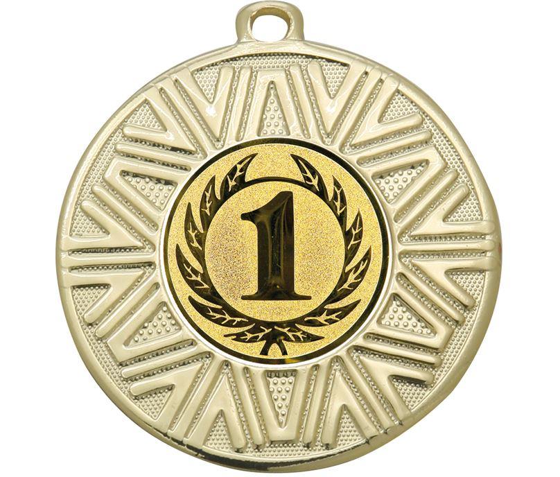 """1st Place Achievement Medal Gold 50mm (2"""")"""