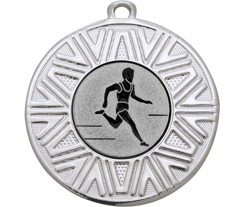 "Cross Country Achievement Medal Silver 50mm (2"")"