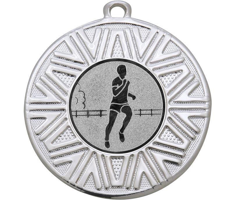 "Running Achievement Medal Silver 50mm (2"")"