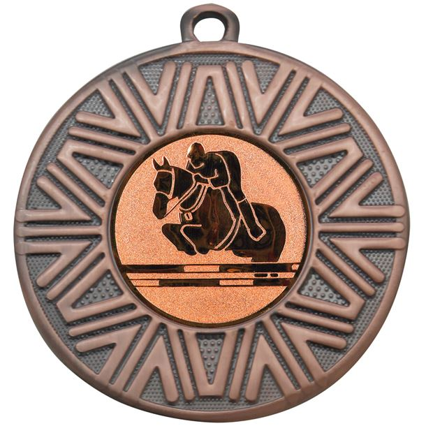"Equestrian Achievement Medal Bronze 50mm (2"")"