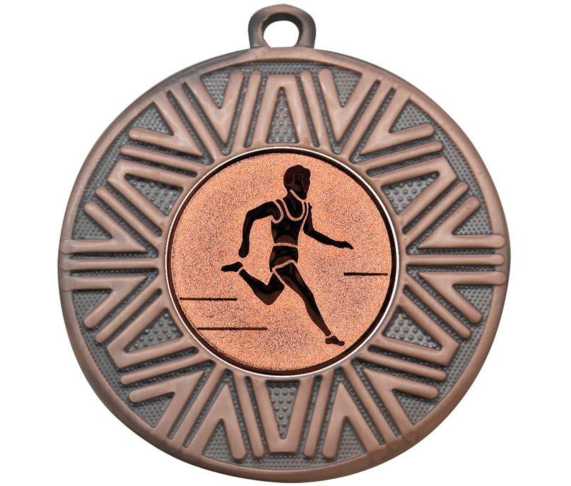 "Cross Country Achievement Medal Bronze 50mm (2"")"