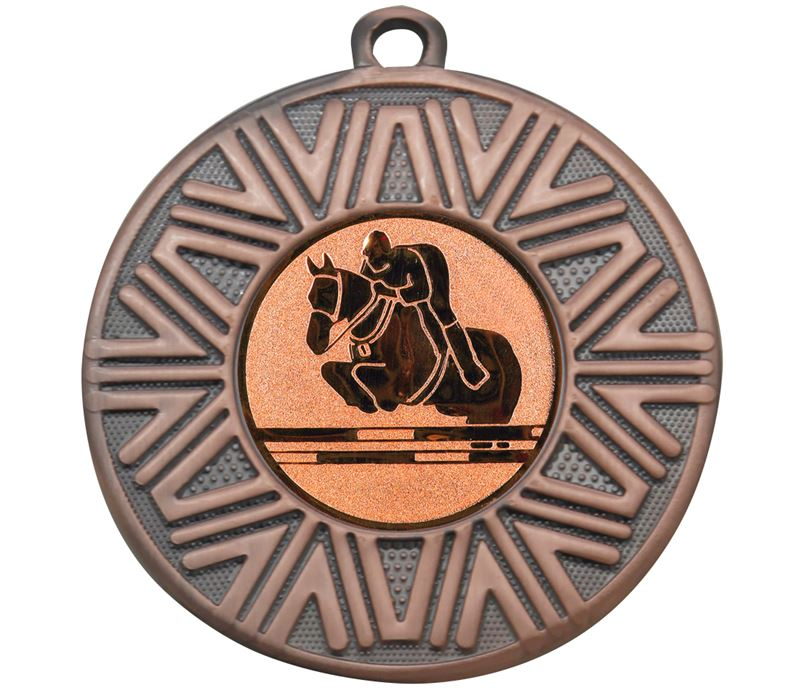 "Equestrian Achievement Medal Bronze 50mm (2"")"