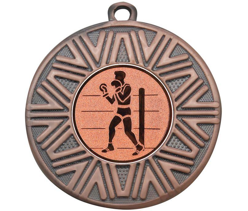 """Boxing Achievement Medal Bronze 50mm (2"""")"""