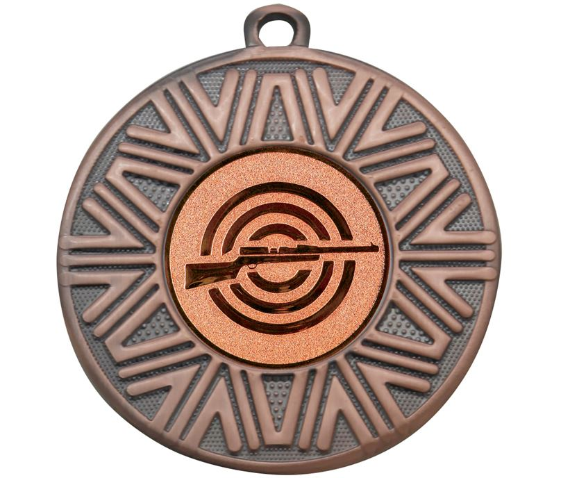"Shooting Achievement Medal Bronze 50mm (2"")"