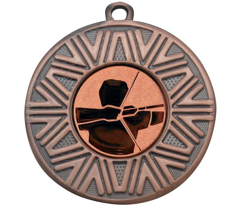"""Archery Achievement Medal Bronze 50mm (2"""")"""
