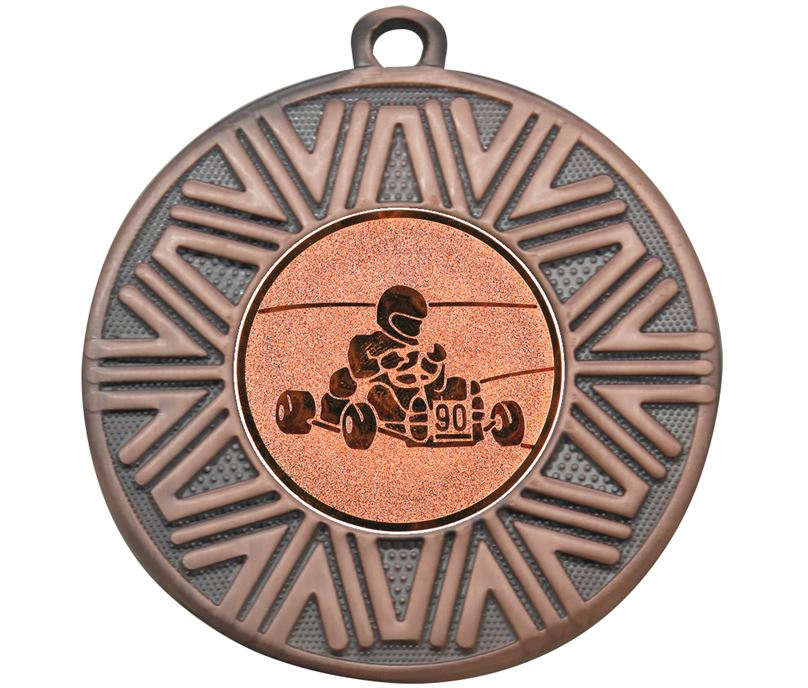 "Karting Achievement Medal Bronze 50mm (2"")"