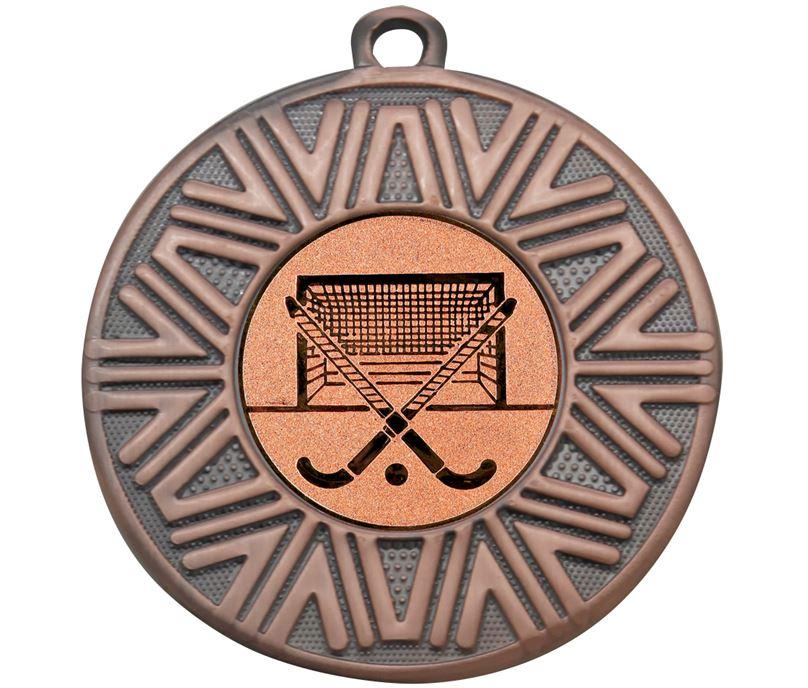 "Hockey Achievement Medal Bronze 50mm (2"")"