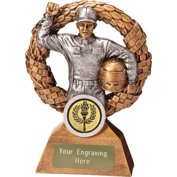 "Monaco Wreath Motorsport Trophy 15cm (6"")"