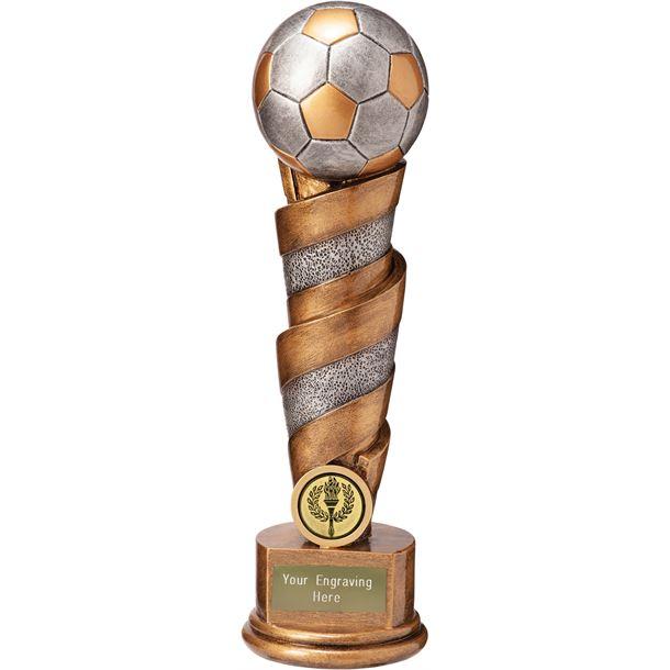 """Cyclone Football Trophy 25cm (9.75"""")"""