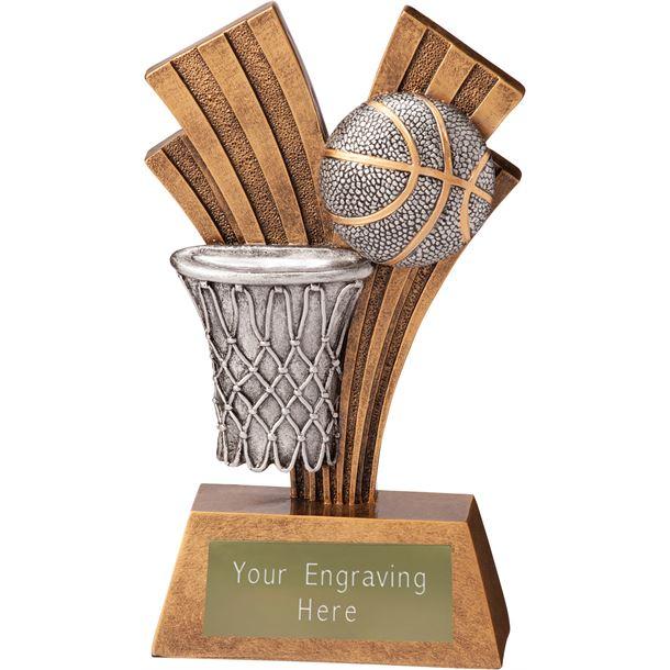 "Basketball Xplode Trophy 18cm (7"")"