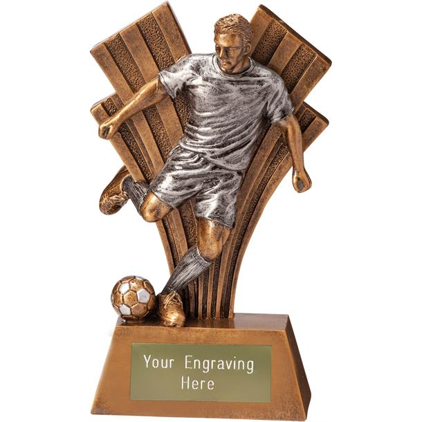 "Football Player Xplode Trophy 15cm (6"")"