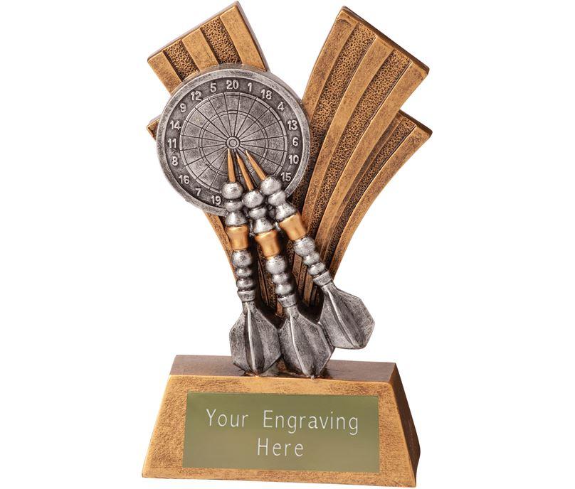 """Darts Xplode Trophy 15cm (6"""")"""