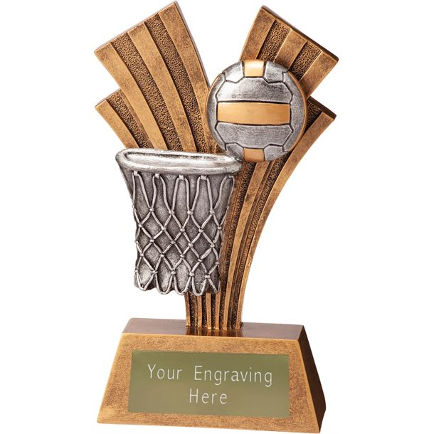 """Netball Xplode Trophy 15cm (6"""")"""