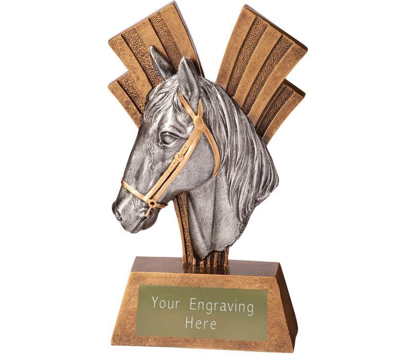 "Equestrian Xplode Trophy 15cm (6"")"