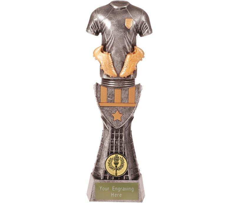 """Football Shirt Armour Trophy 25.5cm (10"""")"""