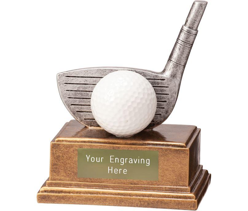 """Golf Driver Belfry Trophy 12cm (4.75"""")"""