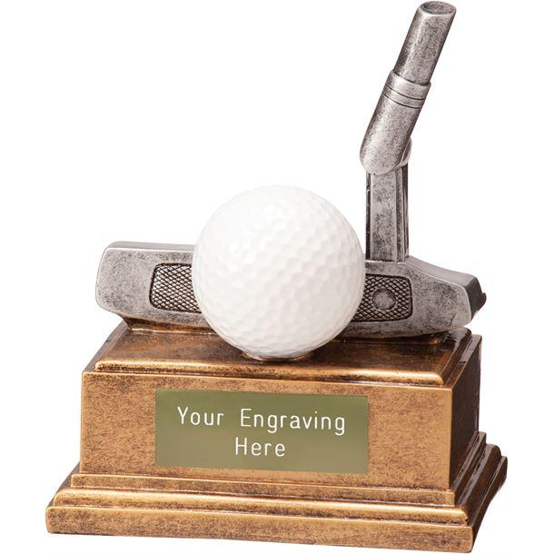 "Golf Putter Belfry Trophy 12cm (4.75"")"