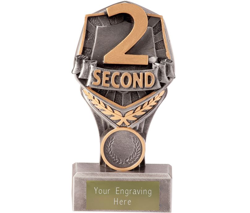 """Second Place Falcon Trophy 15cm (6"""")"""