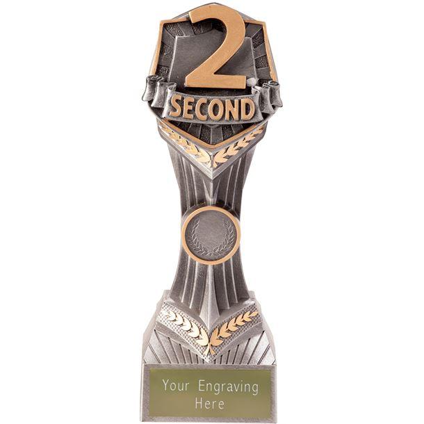 """Second Place Falcon Trophy 22cm (8.75"""")"""