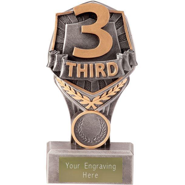 """Third Place Falcon Trophy 15cm (6"""")"""
