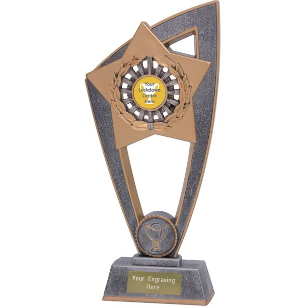 "Lockdown Star Blast Trophy 18cm (7"")"