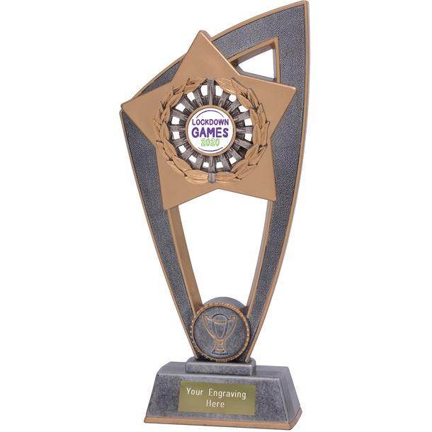 "Lockdown Games Star Blast Trophy 18cm (7"")"