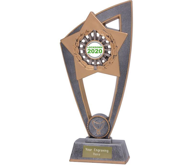 "Lockdown 2020 Star Blast Trophy 18cm (7"")"